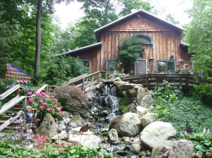 magical pottery cottage in Montague, MI
