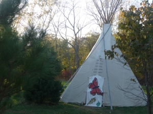 Near the November bonfire site